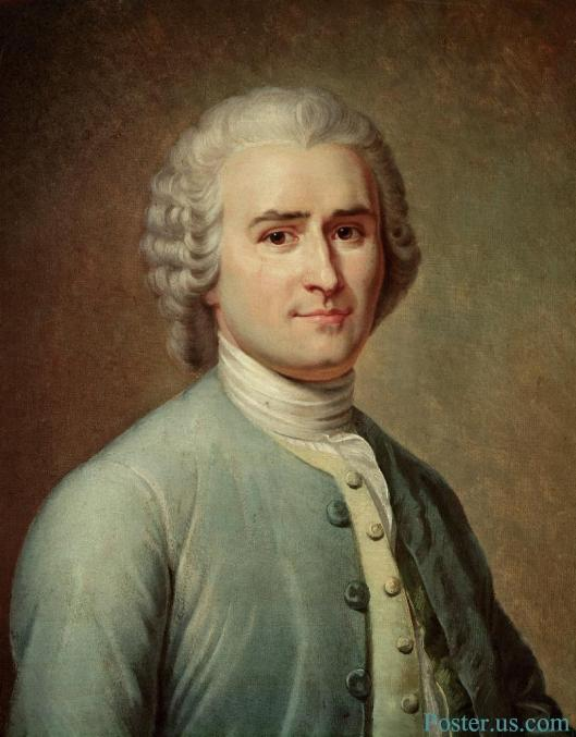 Portrait-of-Jean-Jacques-Rousseau-by-Lacretelle