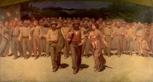 Pellizza-da-Volpedo-Il-Quarto-Stato-1901-Museo-del-Novecento-Milano